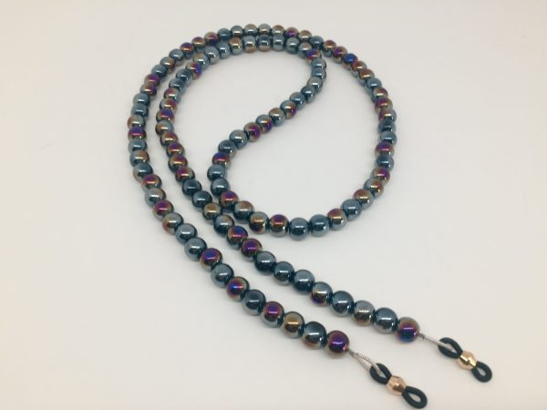 beaded glass chain