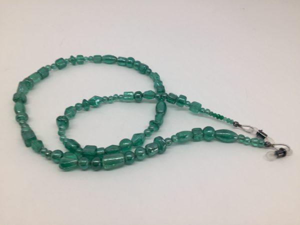 Glass beaded chain
